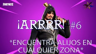 FIND ALIJOS IN ANY AREA/ARRRR!/FORTNITE SAVE THE WORLD