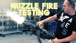 NERF MACHINE GUN MUZZLE FLASH Gun Fire AFTER EFFECTS