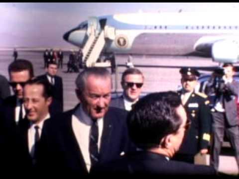 President Johnson Visits El Paso, TX