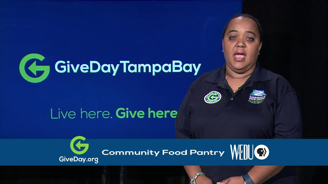 Give Day Tampa Bay 2017 Community Food Pantry YouTube