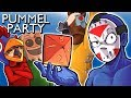 Pummel Party - SHOWING THEM DELIRIOUS STRATS! (Fun Mini Games)