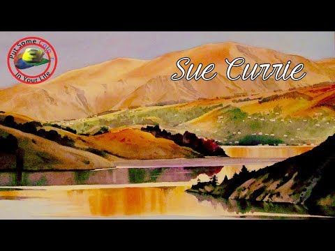 Fine Art Tips with Sue Currie on Colour In Your Life
