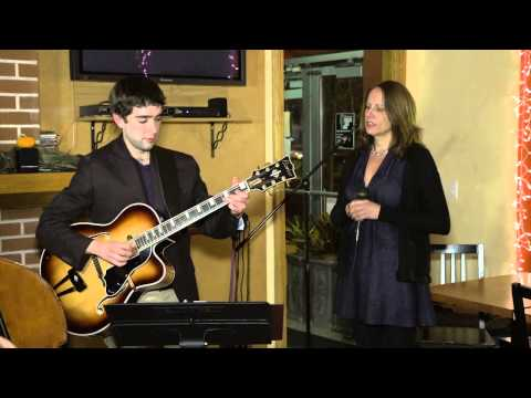 """Elaine Dame-""""I Want To Be Happy""""- with Andrew Pratt & Joe Policastro at Cafe Ciao"""