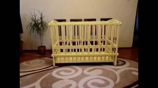 Детская кроватка своими руками , вторая часть