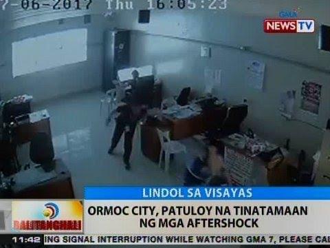 BT: Ormoc City, patuloy na tinatamaan ng mga aftershock