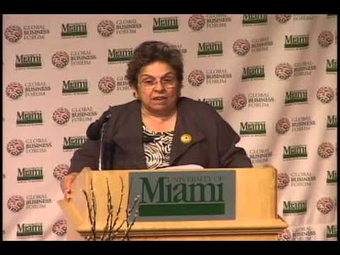 2009 Global Business Forum - Donna E. Shalala, President, University of Miami