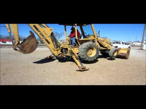 Ford 555 backhoe for sale | sold at auction March 29, 2012