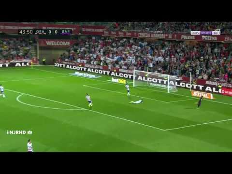 Granada vs Barcelone 1-4 All Goals and Highlights 02/04/17