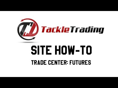 Site How-To: Trade Center, Futures