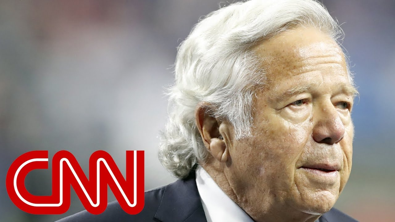 Robert Kraft issues apology after solicitation charges