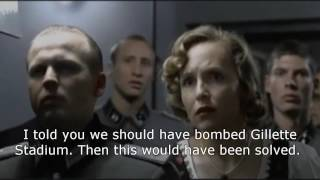 Goodell (Hitler) reacts to the Patriots Week 1 win