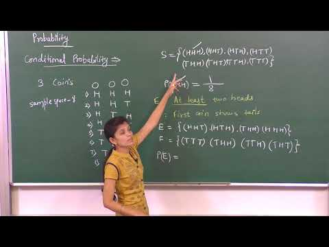 MATHS-XII-13-01 Conditional probability, Pradeep Kshetrapal Physics channel
