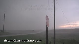 8/6/2015 Volga, SD Brief Tornado and and Storm Structure B-roll