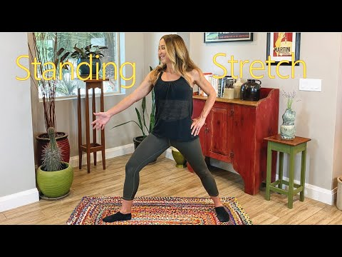 Full-Body Gentle Stretch Routine for Seniors and Beginners