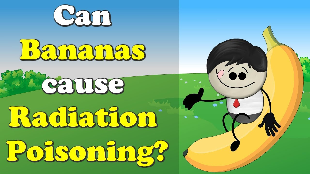 Can Bananas cause Radiation Poisoning? + more videos   #aumsum #kids #science #education #children