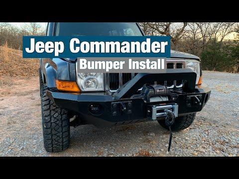 Jeep Commander JeepSteel Bumper Install