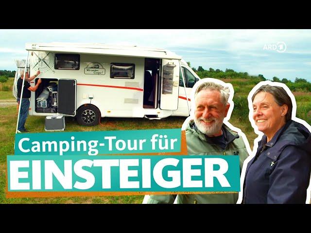 Camping-Anfänger an der Nordsee und an der Ostsee | WDR Reisen