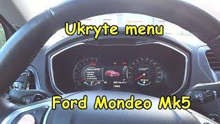 Ukryte menu serwisowe Ford Mondeo MK5 2.0 Ecoboost. Urealnienie spalania i inne funkcje