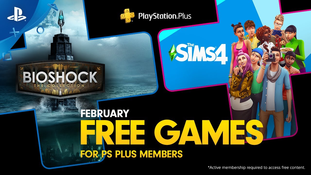 PS Plus for February 2020