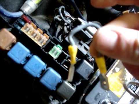 D21 fuse box
