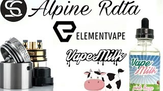 alpine RDTA  The BEST RDTA Ever? & Giveaway X2!