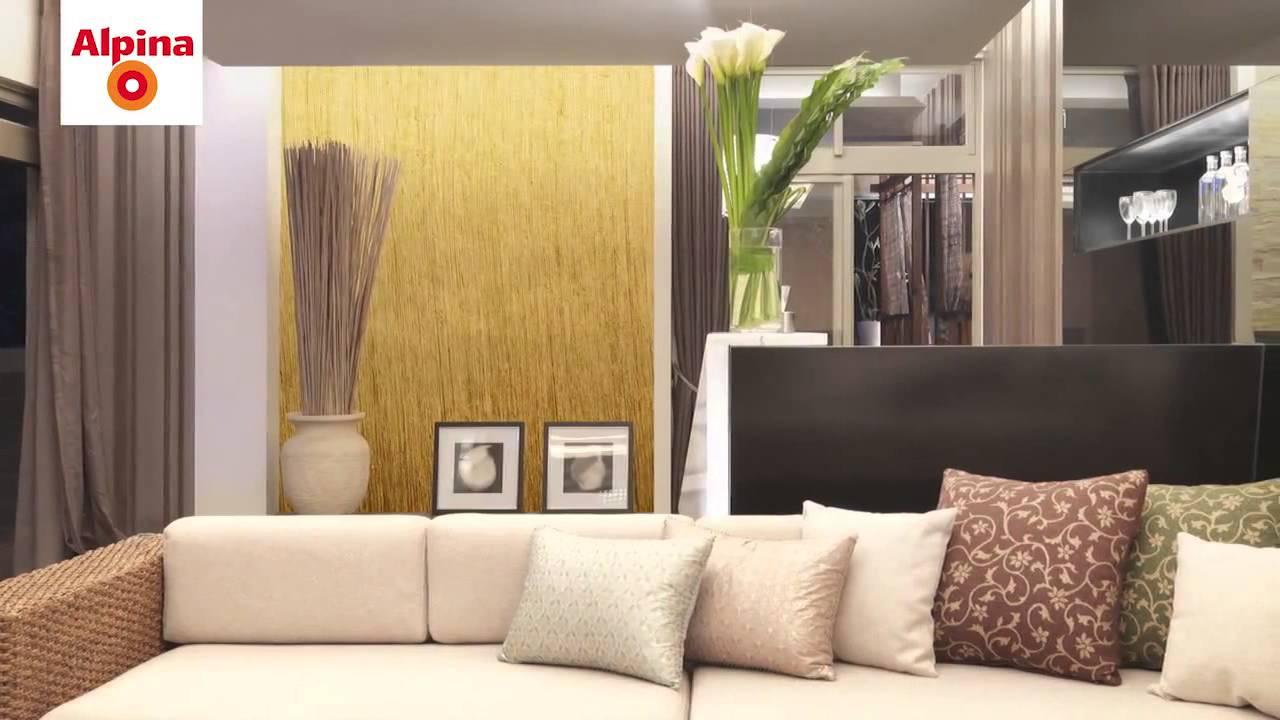 alpina linie effekt youtube. Black Bedroom Furniture Sets. Home Design Ideas
