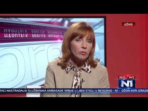 N1 Pressing: Jelena Milić i Boško Obradović (23.2.2016)