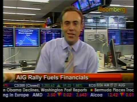 AIG Rally Fuels Financials - Bloomberg