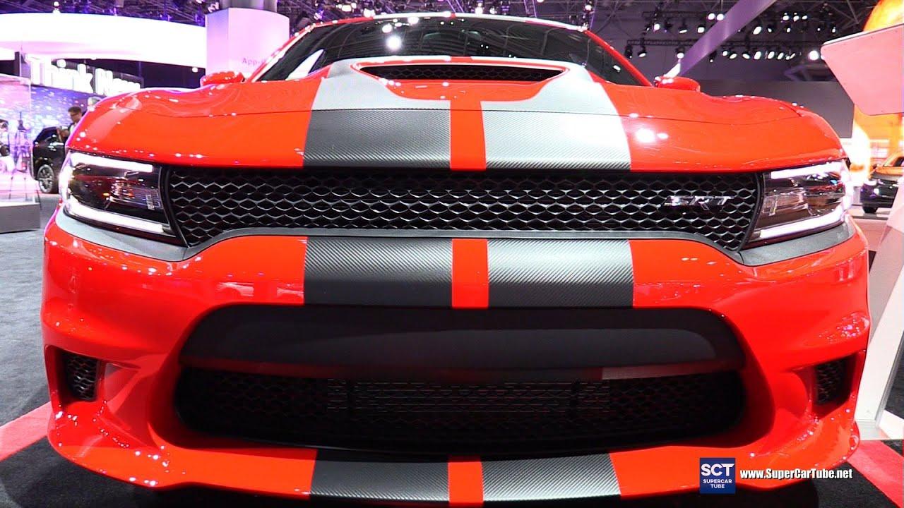 2016 Dodge Charger SRT Hellcat Exterior and Interior Walkaround