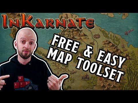 Inkarnate - Let's Make a Fantasy Map! (free version)
