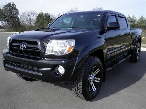 Sold 2008 Toyota Tacoma Double Cab Sr5 V6 Trd Racing Package Mica Black 103k Call 855 507 8520