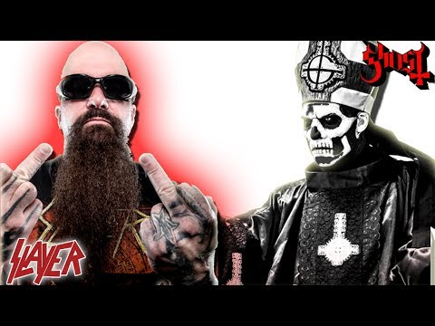 Kerry King: Love Ghost's Image, DON'T Like There Music! | Slayer Guitarist