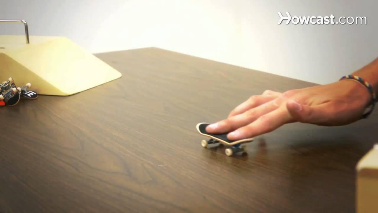 Learn tech deck tricks