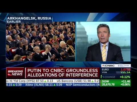 Fmr. NATO Sec. Gen. Anders Fogh Rasmussen joins CNBC to talk Russia