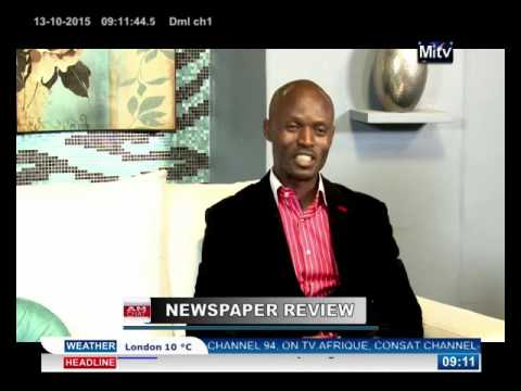 WOFAI SAMUEL DISCUSSES THE ISSUES MAKING FRONT HEADLINE OF NIGERIAN NEWSPAPERS