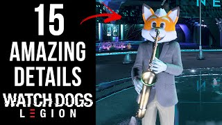 15 AMAZING Details in Watch Dogs: Legion