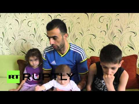 Ukraine: Syrian refugee appeals to Ukrainian government to let him leave Donetsk