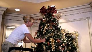 Decking the halls at The Marbella with Trimmers Holiday Decor