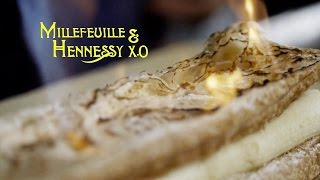 How To Enjoy The Simple Joys To Life: Millefeuille & Hennessy X.O