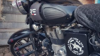 Royal Enfield Custom Stickers | BS4 | Vwraps Sikar
