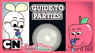 Apple and Onion | Guide To Parties | Cartoon Network UK