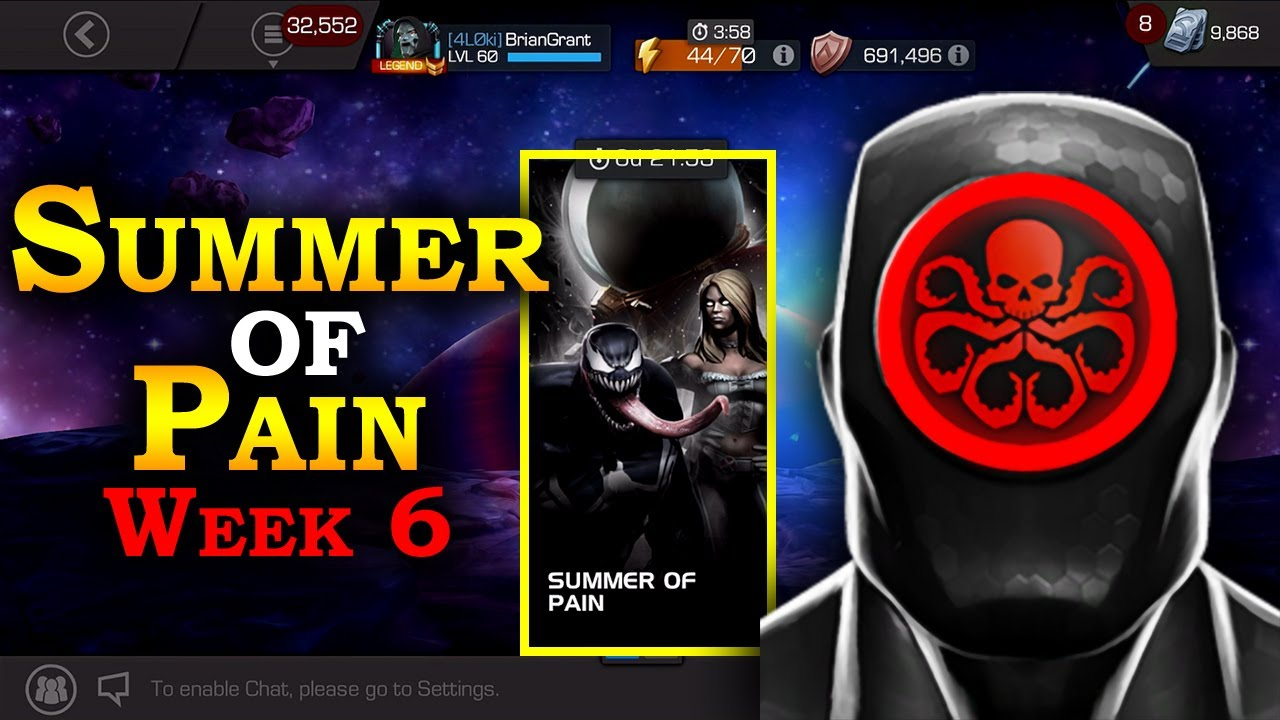Download Summer of Pain - Week 6 - Challenge Objectives | Marvel Contest of Champions