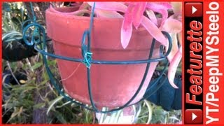 Hanging Planters For Outdoor & Indoor Plants With Decorative Baskets & Hanger Hooks
