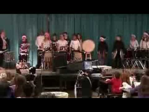 Bucket drumming at Cook Wissahickon School