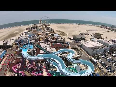 New Jersey atlantic city wildwood cape may drone