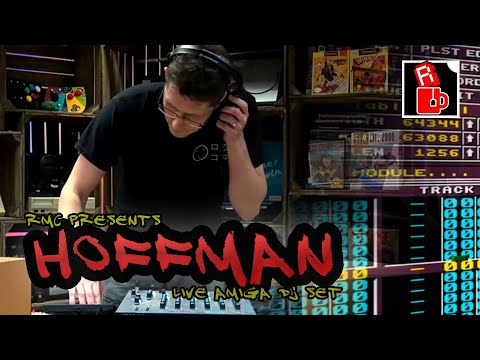 Hoffman - Live Amiga DJ Set and Demo Scene Chat - Rave in the Cave 3