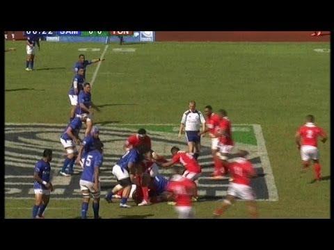 [HIGHLIGHTS] Samoa v Tonga - PNC 2014