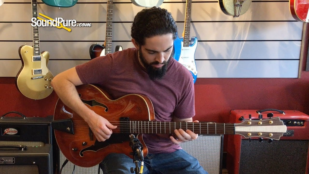 Eastman SB59 Sunburst Electric Guitar Quick n' Dirty - YouTube
