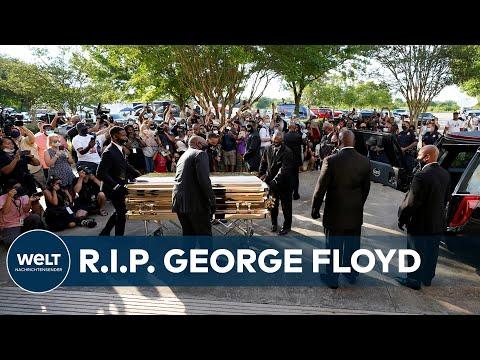 Trauerfeier in Houston: Amerika nimmt Abschied von Georg Floyd