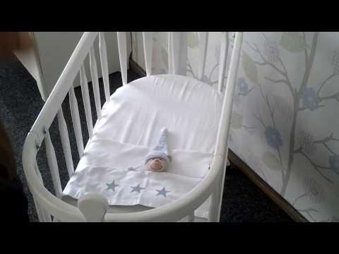 Как правильно заправить детскую кроватку